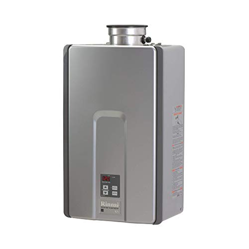 Rinnai RL75iN Natural Gas Tankless Water Heater, 7.5 Gallons Per...