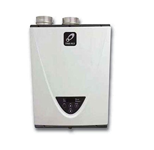 Takagi T-H3-DV-N Condensing High Efficiency Natural Gas Indoor...