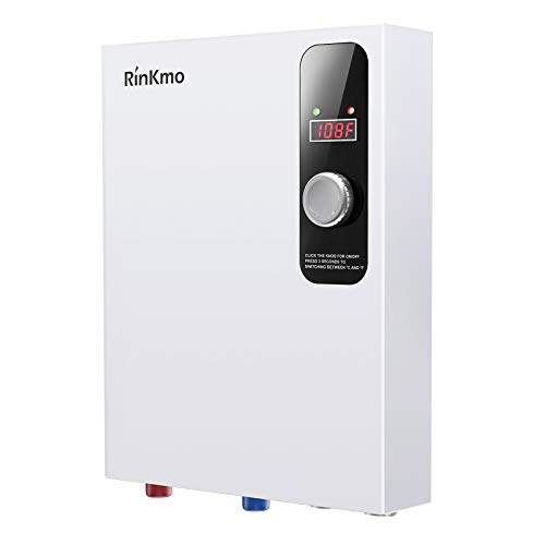 Rinkmo Electric Tankless Water Heater 18KW 240V Instant Hot On Demand...