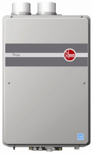 Rheem RTGH-95DVLN 9.5 GPM Indoor Direct Vent Tankless Natural Gas...