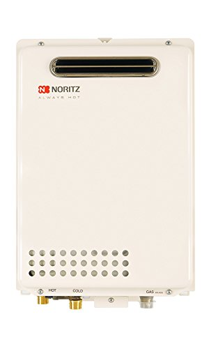 Noritz NR50ODNG Outdoor Tankless Water Heater, max. 120,000 Btuh, 5.0...