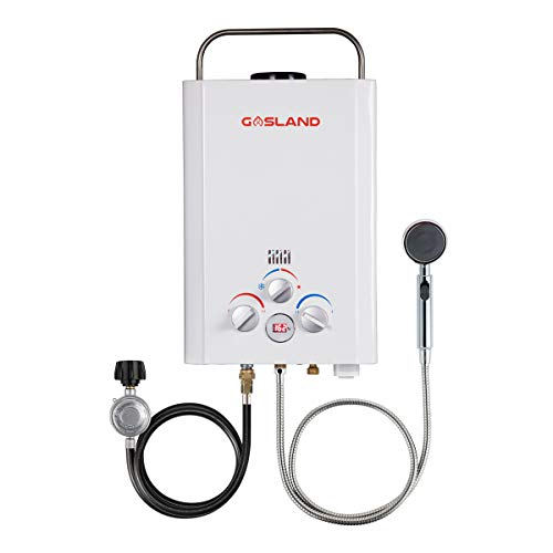 Tankless Water Heater, GASLAND Outdoors BE158 1.58GPM 6L Outdoor...