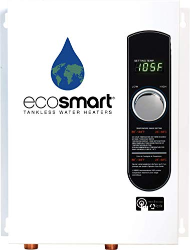 Ecosmart ECO 18 Electric Tankless Water Heater, 18 KW at 240 Volts...