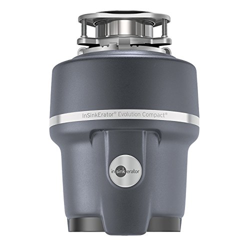 InSinkErator Garbage Disposal, Evolution Compact, 3/4 HP Continuous...