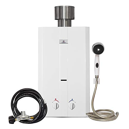 Eccotemp L10 Portable Outdoor Tankless Water Heater w/Shower Set