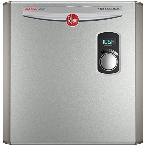Rheem 240V 3 Heating Chambers RTEX-24 Residential Tankless Water...